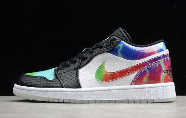 Where To Buy Latest Nike Air Jordan 1 Low Galaxy CW7309-090 ?