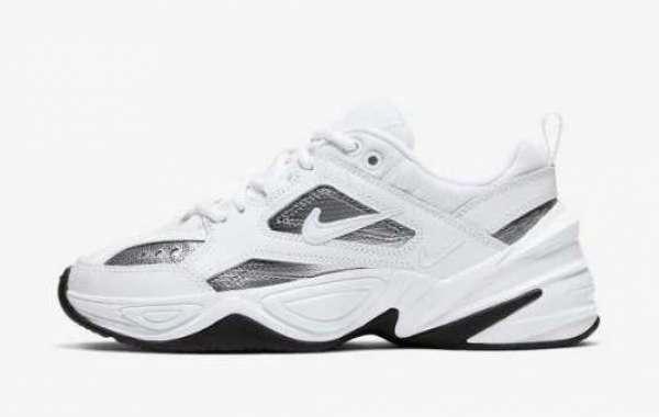 CJ9583-100 New Nike M2K Tekno ESS Essential Metallic Silver Shoes