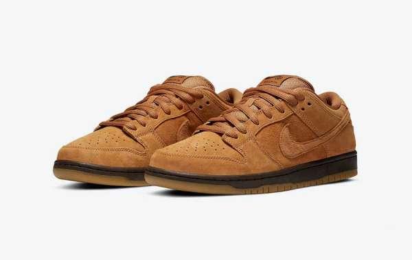 """Nike SB Dunk Low """"Wheat Mocha"""" BQ6817-204 Released In December"""