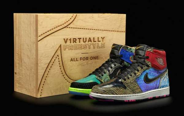 "Overweight Charity Theme Doernbecher x Air Jordan 1 ""What The"" Revealed!"