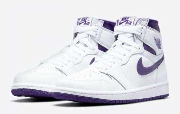 "2021 Brand New Air Jordan 1 High OG WMNS ""Court Purple"" CD0461-151"