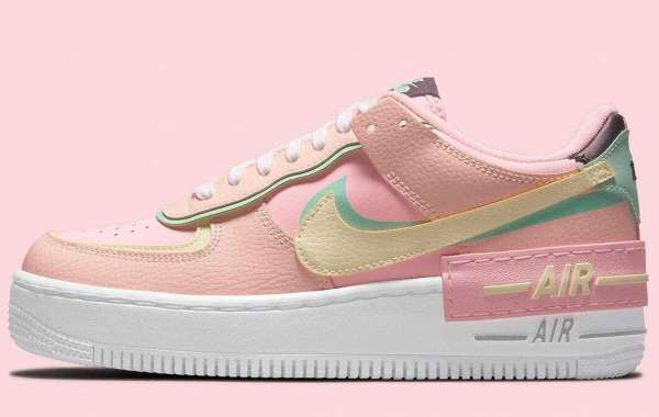 "2021 Nike Air Force 1 Shadow Releasing ""Arctic Punch"" Colorway"